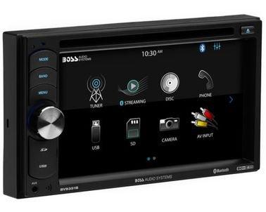 نظام صوتي ومشغل أقراص DVD من بوس، شاشة 6.2 بوصة لمس، 320 واط