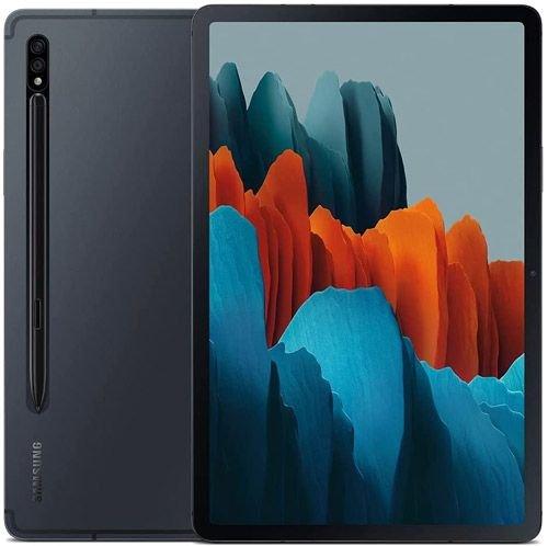 سامسونج جالكسي تاب اس 7 وايفاي، 11 بوصة، 128GB تخزين، رام 6GB، لون أسود