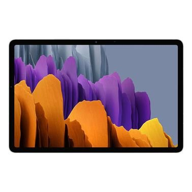 سامسونج جالكسي تاب اس 7 وايفاي، 11 بوصة، 128GB تخزين، رام 6GB، لون فضي