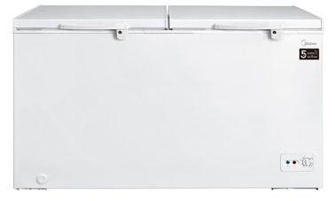 فريزر أفقي من ميديا باب مزدوج، 670 لتر، أبيض