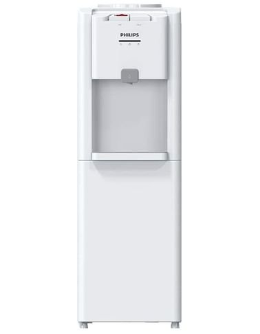 موزع مياه من فيلبس، صنبور واحد حار/بارد، أبيض