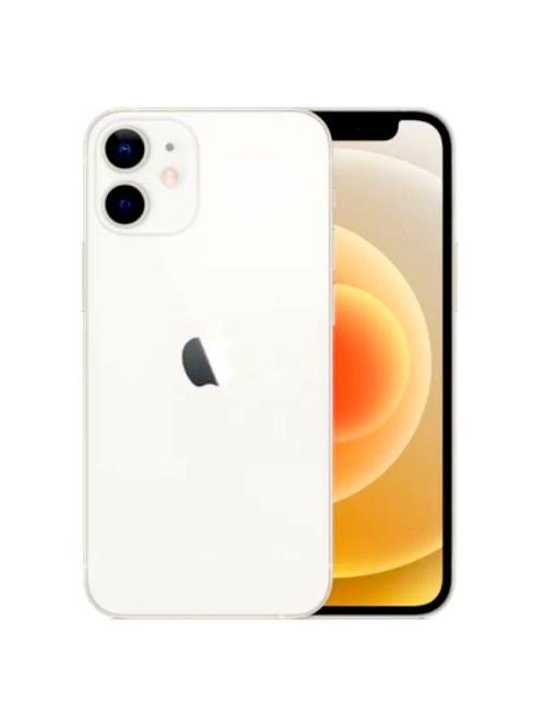 هاتف أبل آيفون 12 ميني، 64 جيجابايت، لون أبيض، الجيل الخامس 5G
