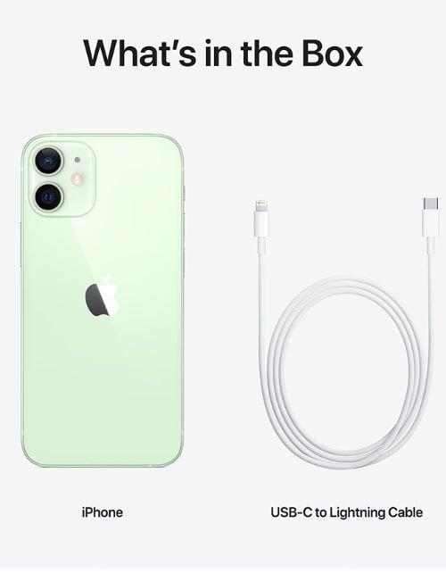 هاتف أبل آيفون 12 ميني، 64 جيجابايت، لون أخضر، الجيل الخامس 5G