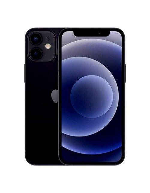 هاتف أبل آيفون 12 ميني، 128 جيجابايت، لون أسود، الجيل الخامس 5G