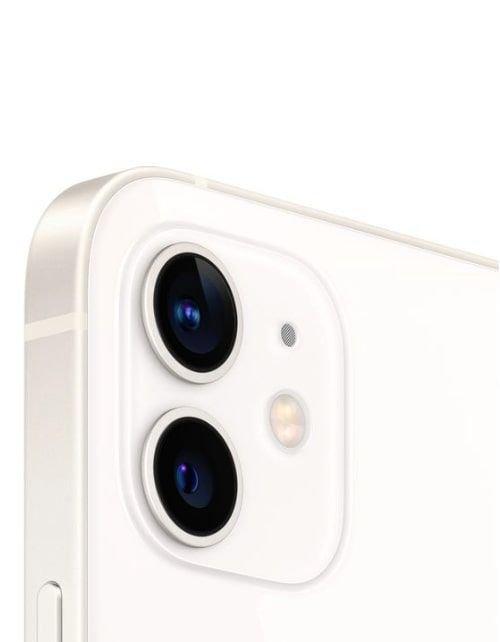 هاتف أبل آيفون 12، 5 جي، بسعة 256 جيجابايت، لون أبيض