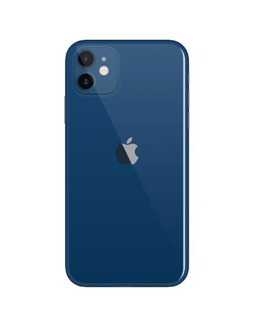 هاتف أبل آيفون 12، 5 جي، سعة 128 جيجابايت، لون أزرق