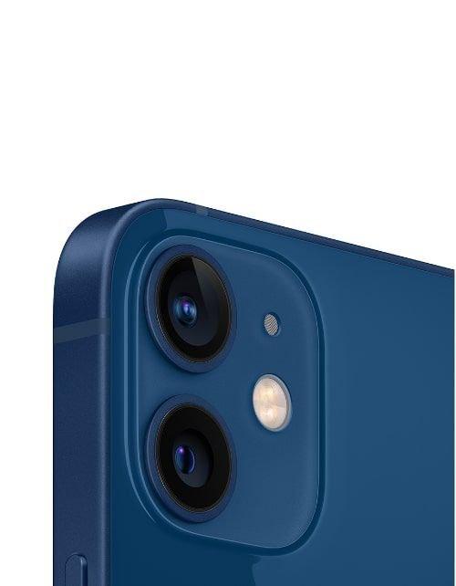 هاتف أبل آيفون 12، 5 جي، سعة 256 جيجابايت، لون أزرق