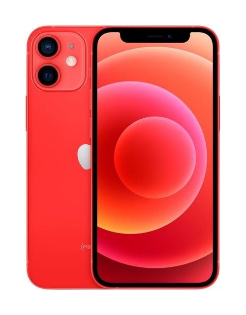 هاتف أبل آيفون 12، 5 جي، سعة 128 جيجابايت، لون أحمر