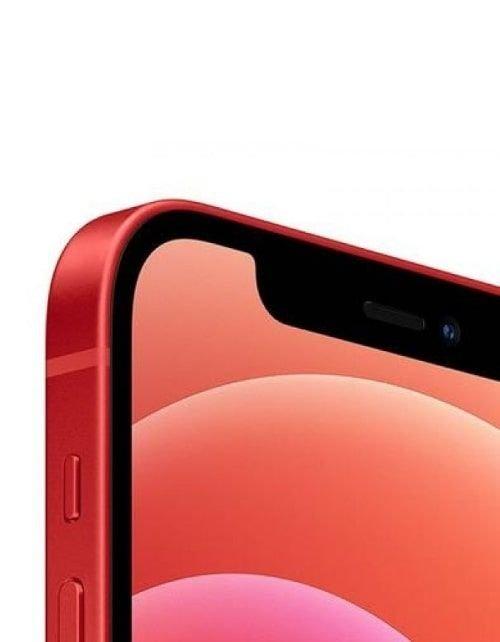 آيفون 12 أحمر سعة 64 جيجابيات كاميرا أمامية