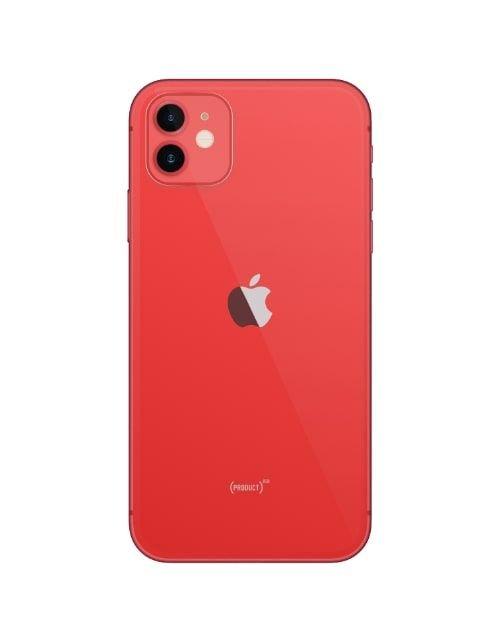 آيفون 12 أحمر سعة 64 جيجابيات خلفي