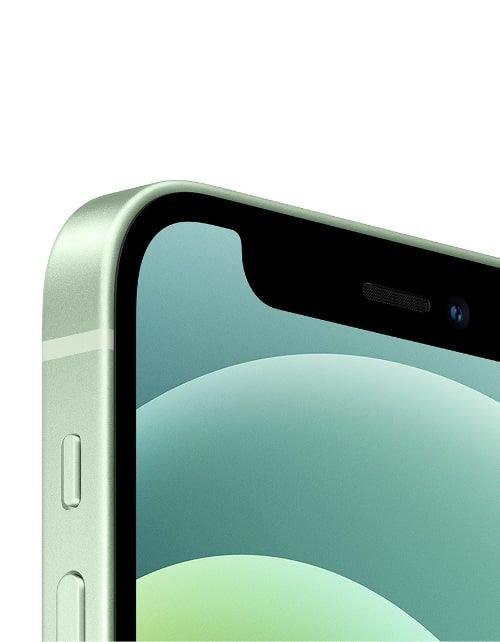 هاتف أبل آيفون 12، 5 جي، سعة 128 جيجابايت، لون أخضر