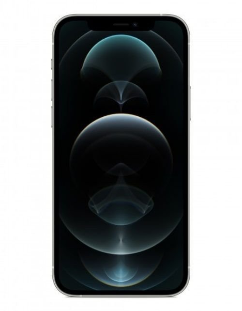 هاتف أبل آيفون 12 برو، 5 جي، سعة 128 جيجابايت، لون فضي