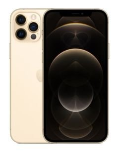 هاتف أبل آيفون 12 برو، 5 جي، سعة 128 جيجابايت، لون ذهبي