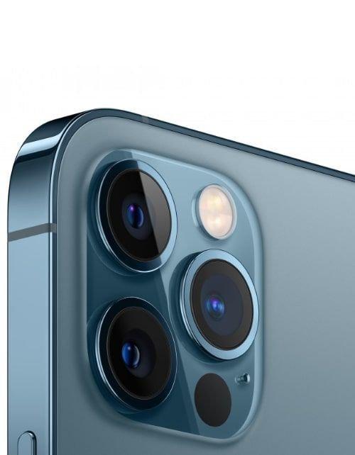 هاتف أبل آيفون 12 برو، 5 جي، سعة 128 جيجابايت، لون أزرق