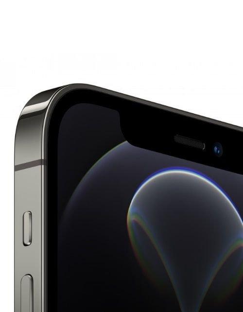 هاتف أبل آيفون 12 برو، 5 جي، سعة 256 جيجابايت، رصاصي جرافيتي