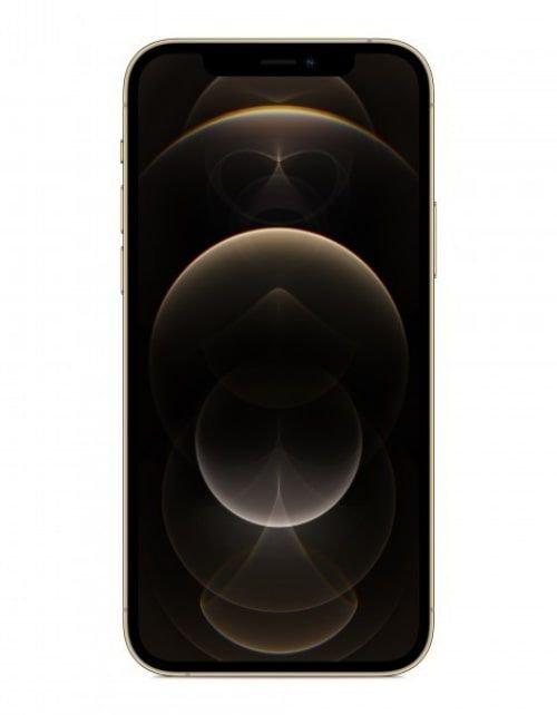 هاتف أبل آيفون 12 برو، 5 جي، سعة 256 جيجابايت، لون ذهبي