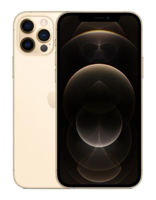 هاتف أبل آيفون 12 برو ماكس، 5 جي، 128 جيجابايت، ذهبي