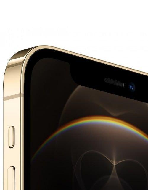 هاتف أبل آيفون 12 برو ماكس، 5 جي، 256 جيجابايت، ذهبي