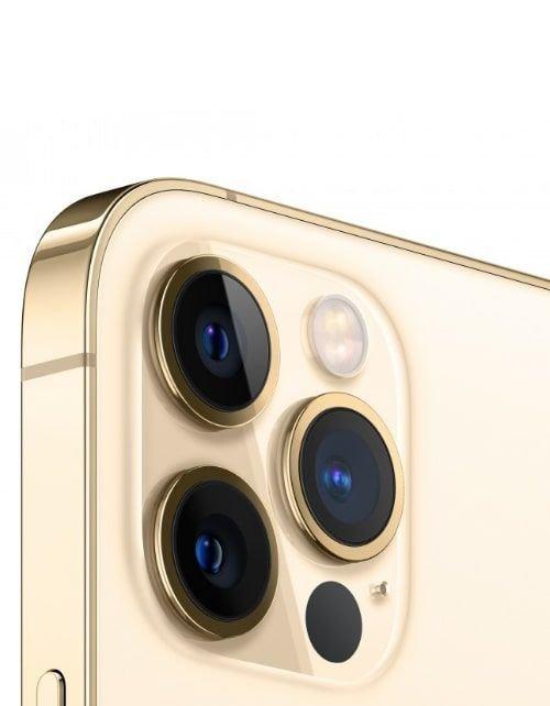 هاتف أبل آيفون 12 برو ماكس، 5 جي، 512 جيجابايت، ذهبي