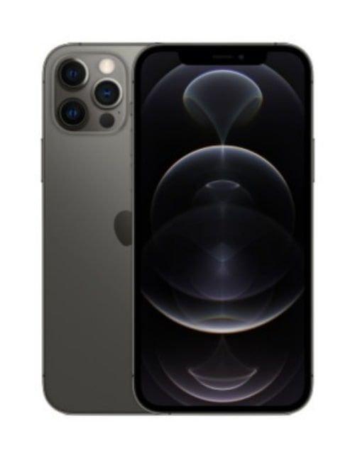 هاتف أبل آيفون 12 برو ماكس، 5 جي، 256 جيجابايت، رصاصي