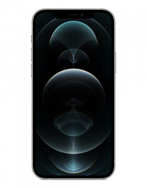 هاتف أبل آيفون 12 برو ماكس، 5 جي، 512 جيجابايت، فضي