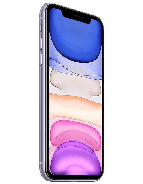 هاتف أبل آيفون 11، 4 جي، سعة 256 جيجابايت، لون بنفسجي