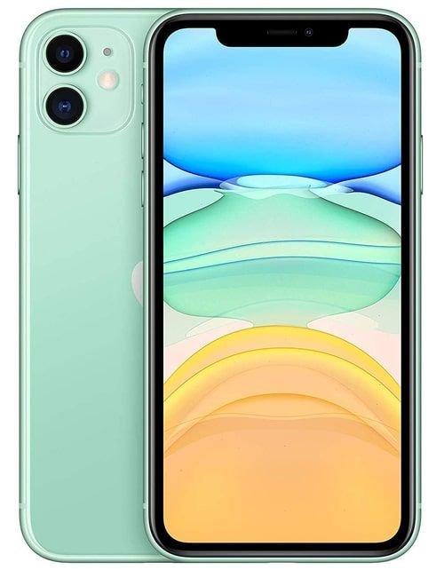 هاتف أبل آيفون 11، 4 جي، سعة 128 جيجابايت، لون أخضر