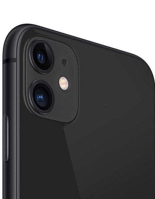 هاتف أبل آيفون 11، 4 جي، سعة 256 جيجابايت، لون أسود