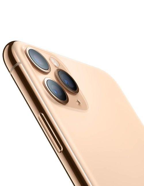 هاتف أبل آيفون 11 برو، 4 جي، سعة 64 جيجابايت، لون ذهبي