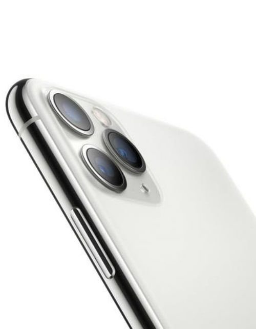 هاتف أبل آيفون 11 برو، 4 جي، 256جيجابايت، لون فضي