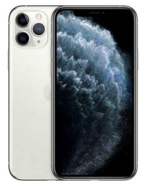 هاتف أبل آيفون 11 برو، 4 جي، 64 جيجابايت، لون فضي
