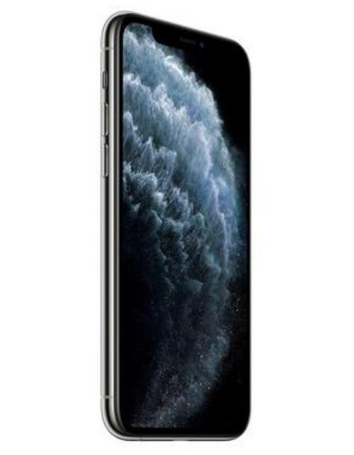 هاتف أبل آيفون 11 برو ماكس، 4 جي، 64 جيجابايت، لون فضي