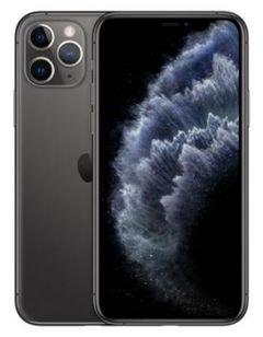 هاتف أبل آيفون 11 برو ماكس، 4 جي، 64 جيجا، لون رمادي