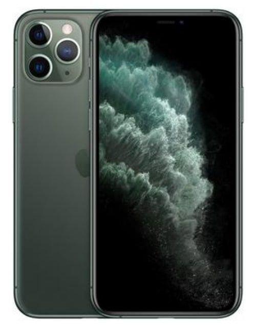 هاتف أبل آيفون 11 برو، 4 جي، 256 جيجابايت، لون أخضر