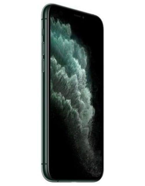 هاتف أبل آيفون 11 برو ماكس، 4 جي، 256 جيجابايت، لون أخضر