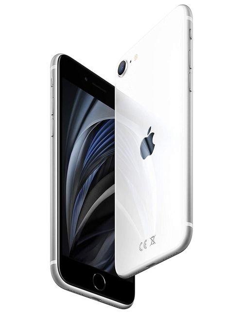 هاتف أبل آيفون إس اي 2، 4 جي، 128 جيجابايت، لون أبيض