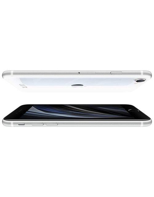 هاتف أبل آيفون إس اي 2، 4 جي، 256 جيجابايت، لون أبيض