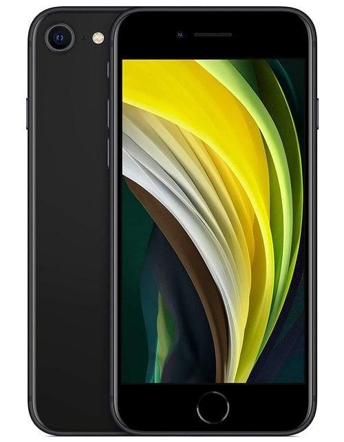 هاتف أبل آيفون إس اي 2، 4 جي، 256 جيجابايت، لون أسود