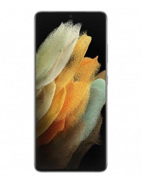 هاتف سامسونج جلاكسي إس 21 ألترا، 5 جي، 512 جيجابايت، فضي فانتوم