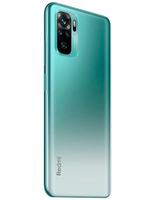 هاتف شاومي ريدمي نوت 10، 4 جي، 128 جيجابايت، أخضر