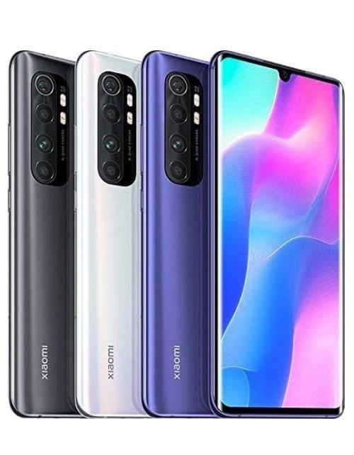 هاتف شاومي مي 10 نوت لايت، 4G، سعة 64 جيجابايت، رام 6GB، لون بنفسجي