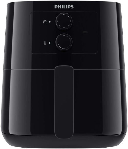 قلاية هوائية فيلبس 4.1 ليتر 0.8 كغ، HD9200/90 أسود بتقنية دوارن الهواء