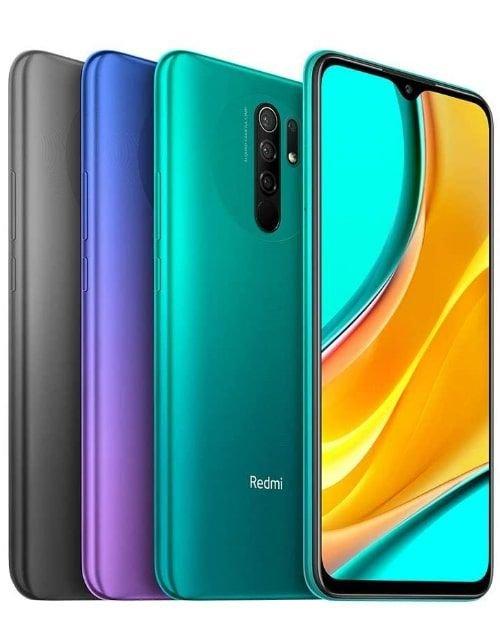 هاتف شاومي ريدمي 9، الجيل الرابع، 64GB، ذاكرة عشوائية 4 جيجابايت، لون رمادي