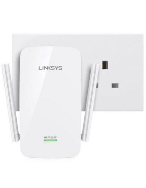 أكسيس بوينت لينكسز AC750، نقطة وصول واي فاي بسرعة 733Mbps، نطاق مزدوج، أبيض