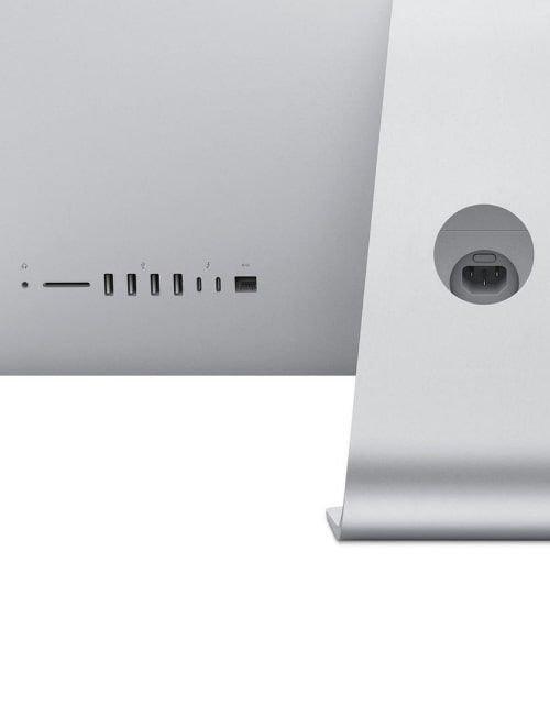 ديسك توب آبل آي ماك 2020، رتينا 27 بوصة 5K، معالج i5 الجيل العاشر، 8GB رام، تخزين 512GB، فضي