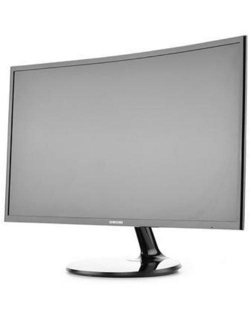 شاشة ألعاب كومبيوتر سامسونج 27 بوصة، منحنية، عالية الوضوح، لون أسود