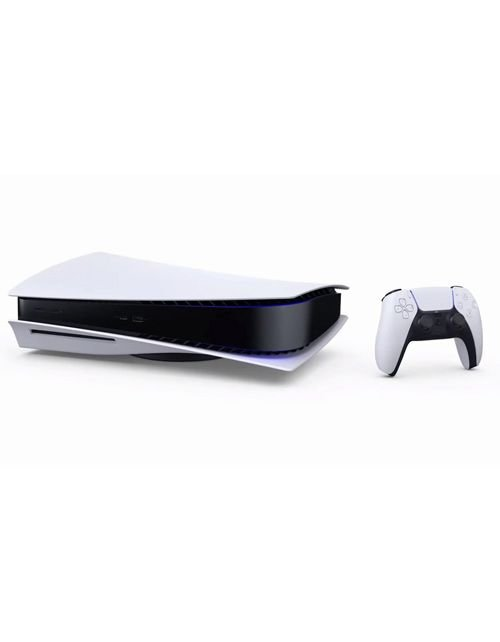 Playstation 5 Standard Edition, one controller, white