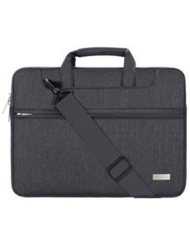 Mosiso laptop shoulder Bag, made of fabric and polyester