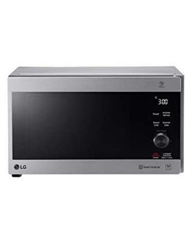 LG Neo Chef Microwave, 42 Liters, Grill, Smart Inverter, Gray