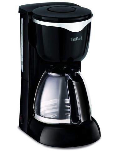 ماكينة صنع القهوة تيفال، فلتر دائم، 1000 واط، 1.25 لتر، أسود